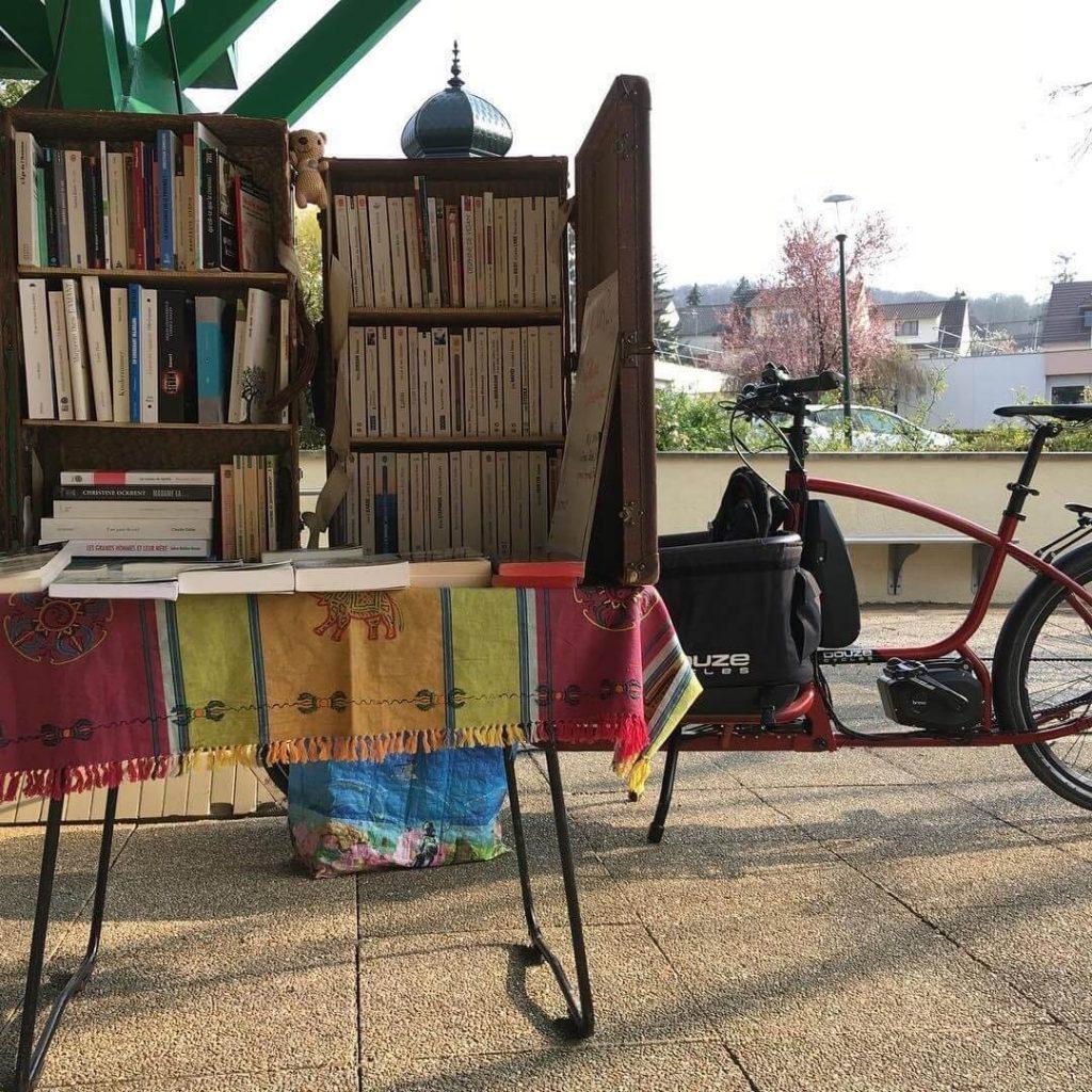 Libraire à vélo
